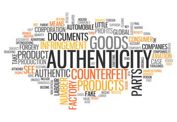 "Word Cloud ""Authenticity"""