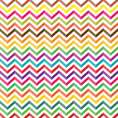 Poster ZigZag colorful zigzag patterned background