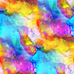 sunlight seamless abstract art blue, yellow, red texture waterco