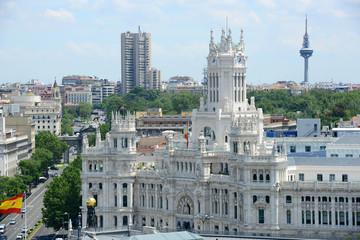 Palace of Communication (Palacio de Comunicaciones) in Madrid