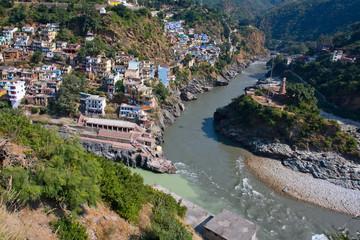 Devprayag. Uttarakhand, India.