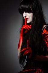 Vamp woman