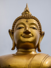 The Buddha statue in asia