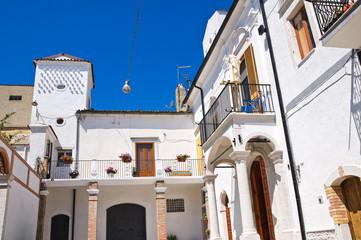Cassitto palace. Alberona. Puglia. Italy.