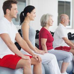 Kurs im Fitnessstudio