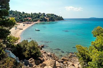 Summer resort of Halkidiki peninsula in Greece