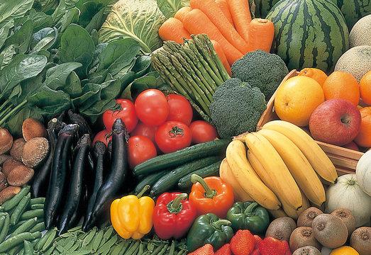 果物、野菜集合