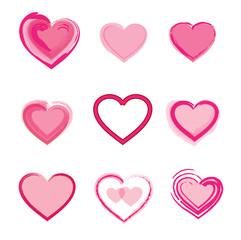 Сет Сердец Hearts