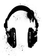Headphones Graffiti