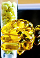 Fish oil and valerian