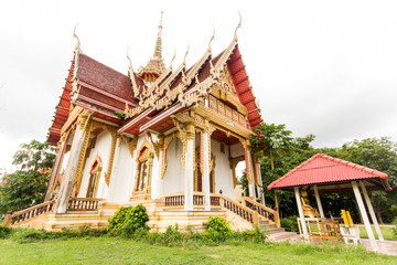 Pagoda at Kaotam temple in Thailand
