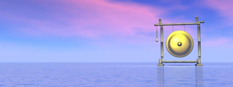 Dream of gong - 3D render