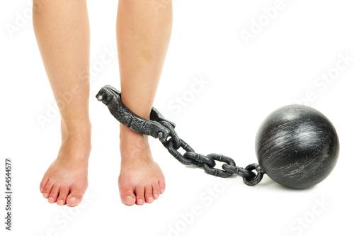 Оковы для ног своими руками