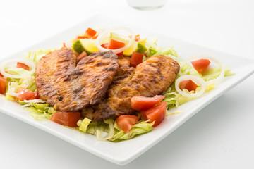 Tilapia and Salad
