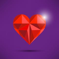 Heart Shaped Triangles