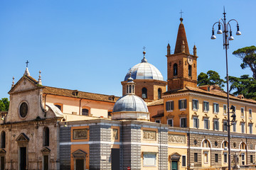 Santa Maria del Popolo. Rome. Italy.