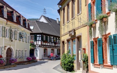 village viticole allemand