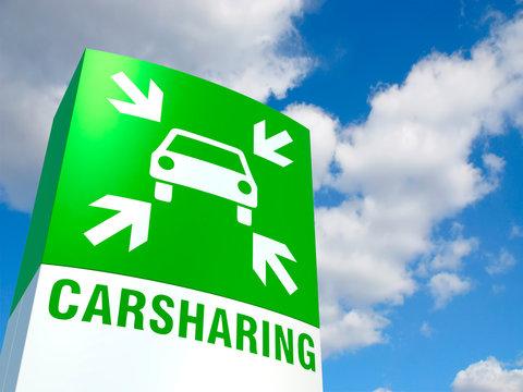 Schild Carsharing-Point