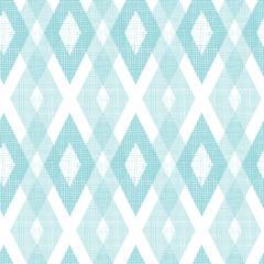 Vector pastel blue fabric ikat diamond seamless pattern