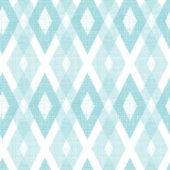 Vector pastel blue fabric ikat diamond seamless pattern