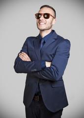 businessman with sunglass