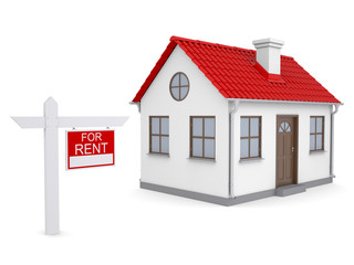 Small house and sign a lease