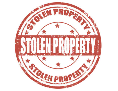 Stolen property-stamp