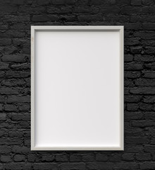 frame on wall