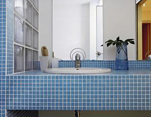 Dettaglio Di Lavabo In Bagno Moderno