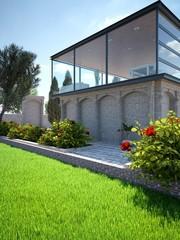 Modernized Villa and Park