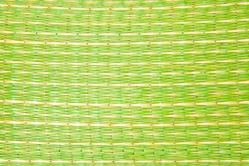 Green straw pattern
