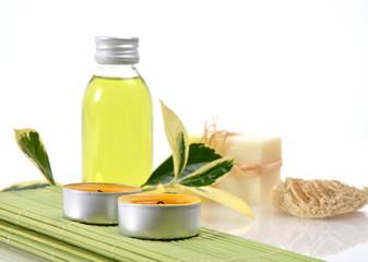 Wellness Citrus Öl Kerzen