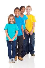 multiracial young children