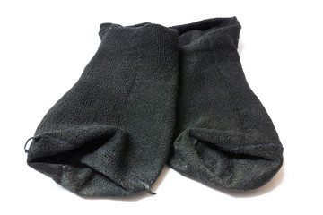 Used black socks