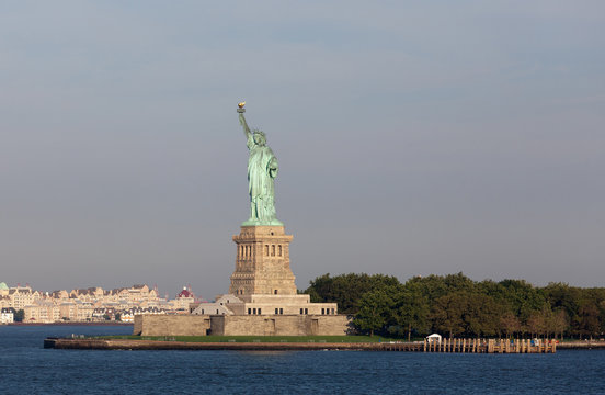 Statue of Liberty one of the most recognizable landmark of New Y