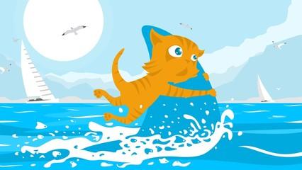 Cat Fisherman