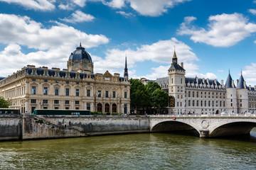 La Conciergerie, a Former Royal Palace and Prison in Paris, Fran