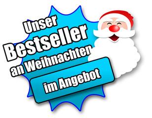 """Siegel """"Unser Bestseller an Weihnachten - im Angebot"""""""