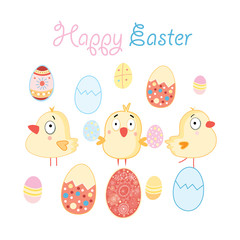 greeting card with Easter