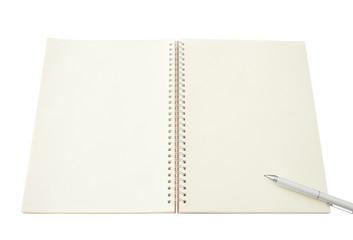 開かれたノート