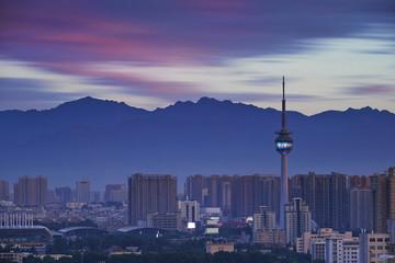Photo sur Plexiglas Xian city panorama