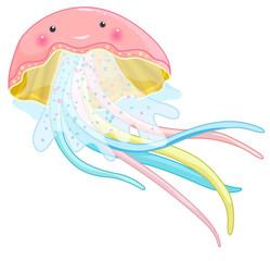 jellyfish cartoon character