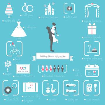 Wedding Planner Infographics