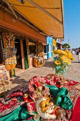 Venice Italy burano souvenir shop