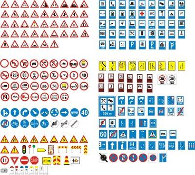 panneaux routier