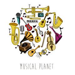 musical planet