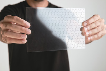 Transparent of graphene application with molecule formulate