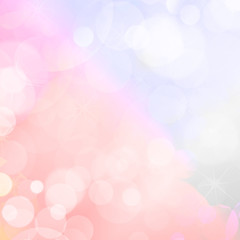 abstract blurred lights celebration background