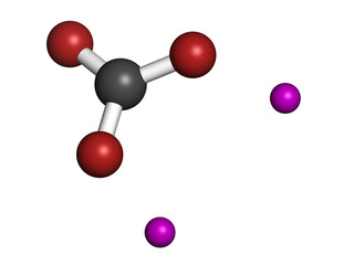 Lithium carbonate (Li2CO3) bipolar disorder drug