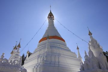 The pagoda at  Wat Doi Kong Mu, Thailand